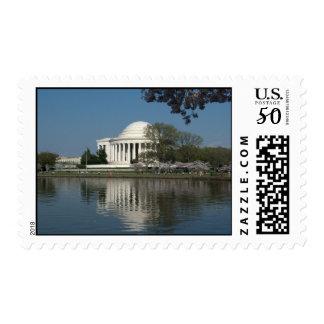 Jefferson Memorial/Cherry Blossom Festival stamp
