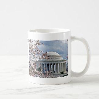 Jefferson Memorial - Cherry Blossoms Classic White Coffee Mug