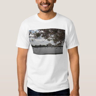 Jefferson Memorial During Cherry Blossom Festival T-Shirt