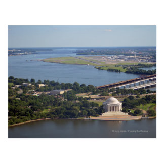 Jefferson Memorial from Washington Monument.jpg Postcard