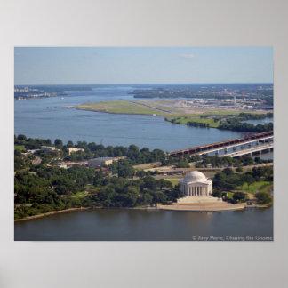 Jefferson Memorial from Washington Monument.jpg Poster