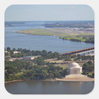 Jefferson Memorial from Washington Monument jpg Stickers