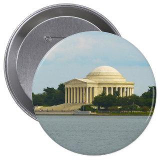 Jefferson Memorial in Washington DC Button