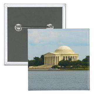 Jefferson Memorial in Washington DC Pinback Button