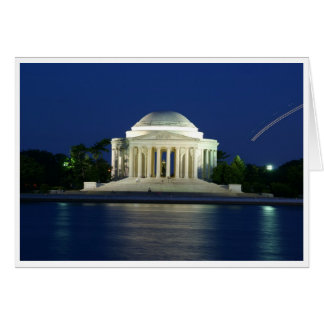 Jefferson Memorial Note/Greeting Card