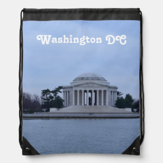 Jefferson Memorial Drawstring Backpack
