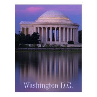 Jefferson Memorial Postcard