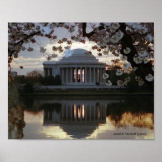 Jefferson Memorial Print