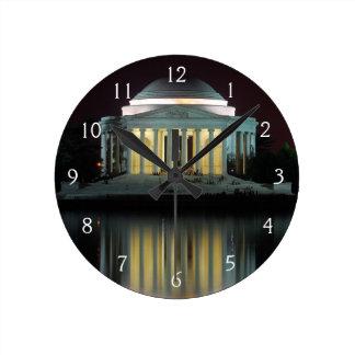 Jefferson Memorial Round Clock