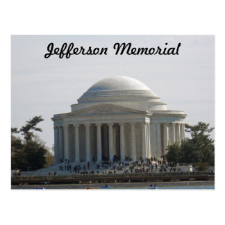 Jefferson Memorial Washington DC 001 Postcard