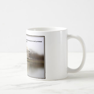 Jefferson Memorial with Quote Coffee Mug
