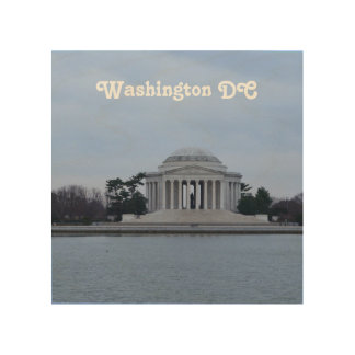 Jefferson Memorial Wood Canvases