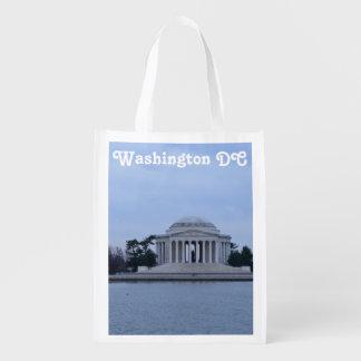 Jefferson Memorial Reusable Grocery Bag