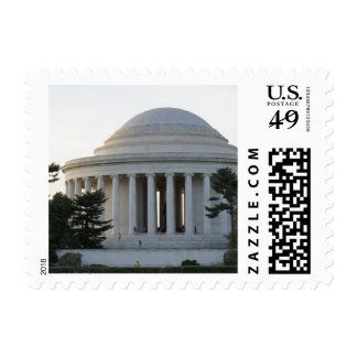 Jefferson Monument Postage Stamps