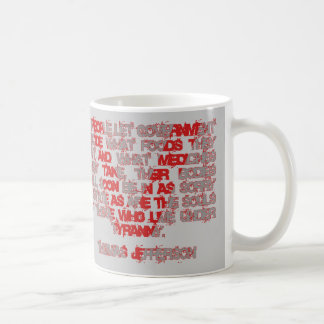 Jefferson on Food and Medicine Coffee Mug