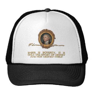 Jefferson on Paper Money Trucker Hat