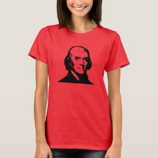 Jefferson on Red T-Shirt