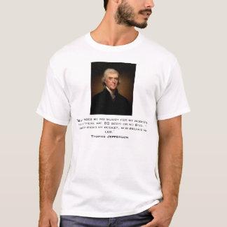 Jefferson on religious freedom T-Shirt