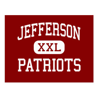 Jefferson - Patriots - Junior - Naperville Postcard