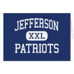 Jefferson Patriots Middle Saint Clair Shores Card