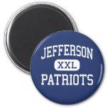 Jefferson Patriots Middle Saint Clair Shores Refrigerator Magnets