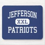 Jefferson Patriots Middle Saint Clair Shores Mouse Pad