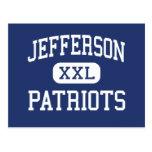 Jefferson Patriots Middle Saint Clair Shores Post Cards