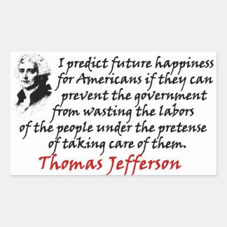 Jefferson: Prevenga al gobierno Rectangular Altavoces