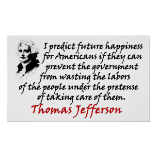 Jefferson: Prevent The Government! Poster