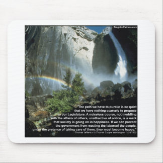 Jefferson quote about limited Government Mousepad