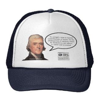Jefferson Quote cap Trucker Hat