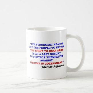 jefferson quote coffee mug