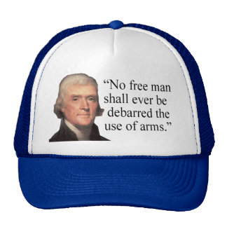 Jefferson Quote hat