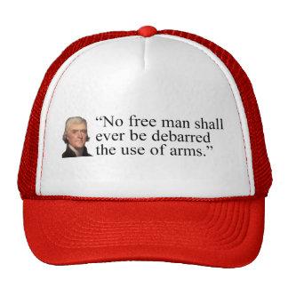 Jefferson Quote hat