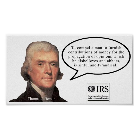Jefferson Quote poster