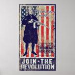 Jefferson Revolution Propaganda Print
