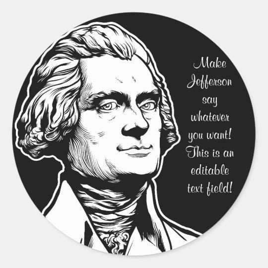 Jefferson Sticker