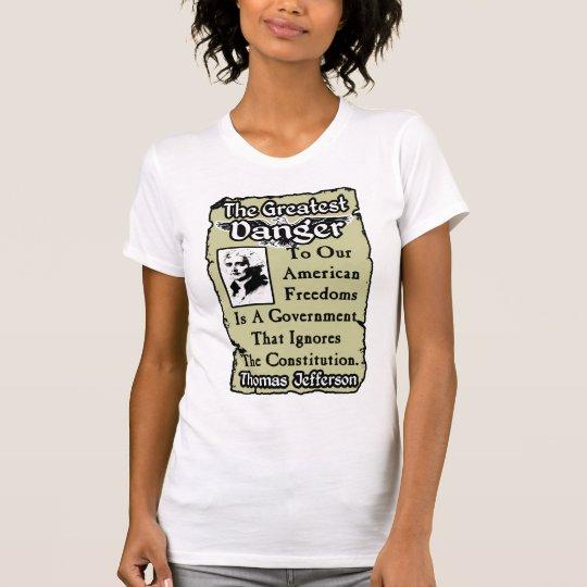 Jefferson: The Greatest Danger T-Shirt