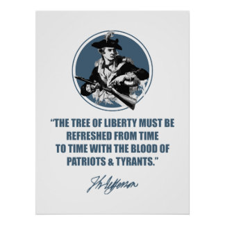 Jefferson -The Tree of Liberty Poster