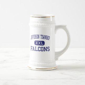 Jefferson Township Falcons Middle Oak Ridge Beer Stein