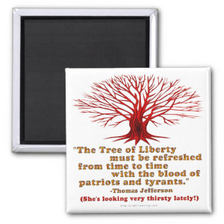 Jefferson Tree of Liberty Magnets