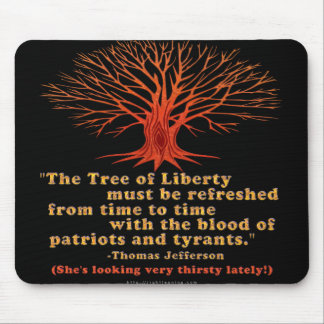 Jefferson Tree of Liberty Mouse Pad