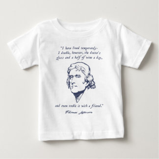 Jefferson - Wine Baby T-Shirt
