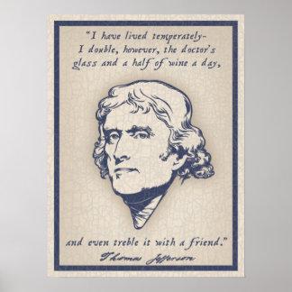 Jefferson - Wine Posters