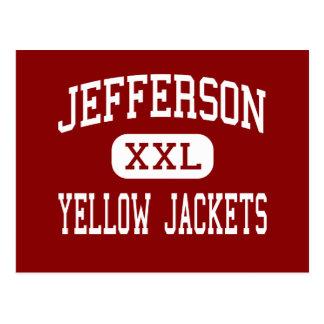 Jefferson - Yellow Jackets - High - Port Arthur Postcard