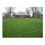 Jefferson's Monticello...the Back Yard in April... Postcard