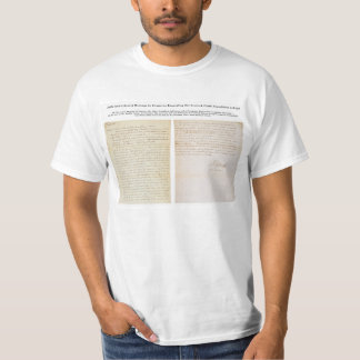 Jefferson's Secret Message to Congress T-Shirt
