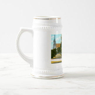 Jefferson's Square showing City Hall San Francisco Beer Stein