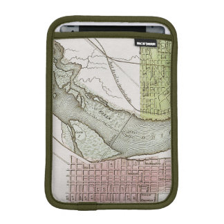 JEFFERSONVILLE, INDIANA: MAP SLEEVE FOR iPad MINI