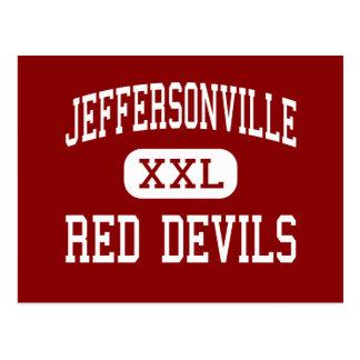 Jeffersonville - Red Devils - Jeffersonville Postcards